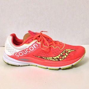 Saucony Fastwitch women's racing shoes sz 9.5 EUC